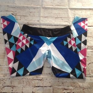Printed workout leggings